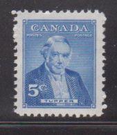 CANADA Scott # 358 MH - Prime Minister Tupper - 1952-.... Reign Of Elizabeth II