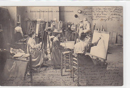 Ecole Des Beaux-Arts - Atelier Humbert  - 1903        (A-66-100416) - Ecoles
