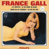 DISQUE 45 T POLYDOR DE 1966 REEDITE ANNEES 2000 EN CD COLLECTORS NEUF DE 4 TITRES DONT LES SUCETTES : FRANCE GALL - Collectors