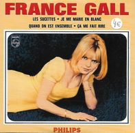 DISQUE 45 T POLYDOR DE 1966 REEDITE ANNEES 2000 EN CD COLLECTORS NEUF DE 4 TITRES DONT LES SUCETTES : FRANCE GALL - Collector's Editions
