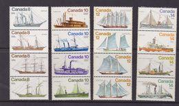Canada 1975/8 ,ship,four Sets MNH       A306 - 1952-.... Reign Of Elizabeth II