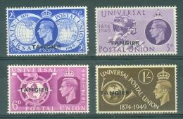 Morocco Agencies - Tangier: 1949   U.P.U.   MH - Morocco (1956-...)