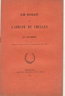 Numismatique Sigillographie Sceau De L'abbaye De Chelles 1907 - Cultural