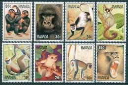 1978 Rwanda Scimmie Monkey Singes MNH** A105 - Rwanda