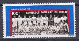 Congo - 1973  PA N°Yv 143 Coupe D'Afrique De Football N* MH - Congo - Brazzaville