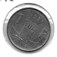 *belguim 1 Frank  1943 Dutch Xf !! - 1934-1945: Leopold III