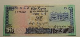 1996 ND - Maurice - Mauritius - FIFTY RUPEES - A / 19 975853 - Maurice