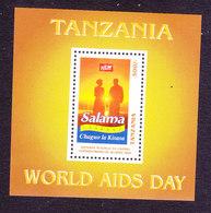 Tanzania, Scott #1590, Mint Never Hinged, World Aids Day, Issued 1997 - Tanzania (1964-...)