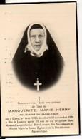 Herry Marguerite Religieuse Sacre-Coeur °1880 Gand Gent +1956 RIo De Janeiro Brésil Brazilie Photo Adel - Avvisi Di Necrologio
