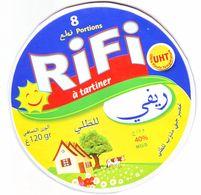 """Algérie - 1  Couvercle De  Fromage Fondu """" RIFI"""" 8 Portions.. - Cheese"""
