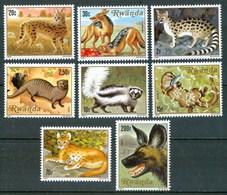 1981 Rwanda Animali Felini Animaux Félins Feline Animals MNH** A105 - Rwanda