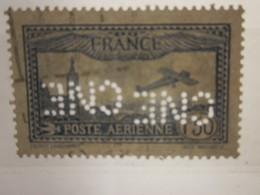 FRANCE POSTE AÉRIENNE PA 1 Fr 50 Timbre Perforé CNE CNE Perforés Perfins Perfin Perforation Perforated Lochung - Perforés