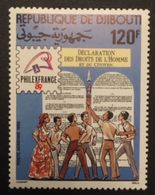 Djibouti 1989 POSTAGE FEE TO BE ADDED ON ALL ITEMS - Djibouti (1977-...)