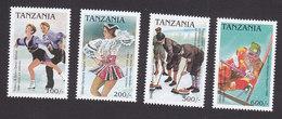 Tanzania, Scott #1601-1604, Mint Hinged, Olympics, Issued 1997 - Tanzania (1964-...)