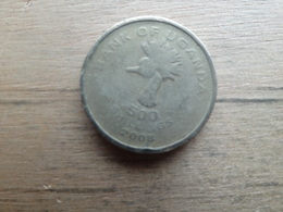 Ouganda   500 Shillings  2008  Km 69 - Ouganda