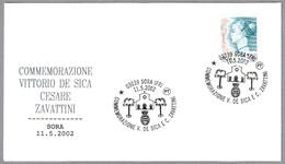 VITTORIO DE SICA - CESARE ZAVATTINI. Sora, Frosinone, 2002 - Cinema