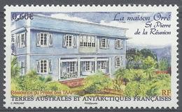 """French Antarctic (FSAT), The """"maison Orré"""", Saint-Pierre, Réunion, 2011, MNH VF - Unused Stamps"""