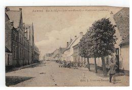 DAMME   Rue De L'Eglise (coté Méridional) - Damme