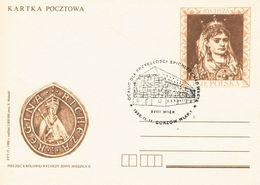 Polen Ganzsachenkarte - Königin Richeza, Gestempelt Gorzow (Landsberg An Der Warthe), Mittelalter - 1944-.... Republik