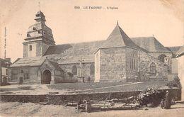 CPA Le Faouet L'église (animée)(précurseur) CC 825 - Faouët