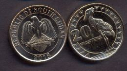 South Sudan 20 Piasters 2015 UNC - Coins