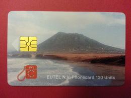 EUTEL ST EUSTACHE 120u 3000ex 10/96 Used Eustatius Antilles - Antilles (Netherlands)