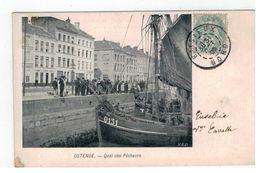 OSTENDE.  - Quai Des Pêcheurs VED - Oostende