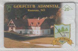 AUSTRIA 1998 GOLF CLUB ADAMSTAL RAMSAU USED PHONE CARD - Austria