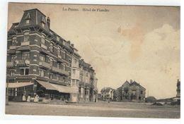La Panne.  Hôtel De Flandre - De Panne