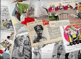 Lot 1089 De 10 CPA Satirique Caricature Kaiser Divers Déstockage Pour Revendeurs Ou Collectionneurs - Cartes Postales