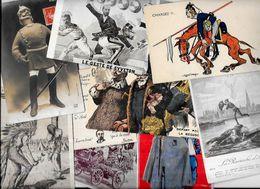 Lot 1090 De 10 CPA Satirique Caricature Kaiser Divers Déstockage Pour Revendeurs Ou Collectionneurs - 5 - 99 Cartoline