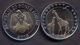 South Sudan 1 Pound 2015 UNC Bimetallic - Soudan Du Sud