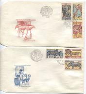 CSSR # 2345-50 FDC. Tiere Safari, Giraffe Elefant Gepard Bongo-Antilope Spitzmaulnashorn. - FDC