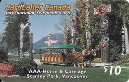 Prepaid: CardCaller - AAA Horse & Carriage, Stanley Park Vancouver - Canada