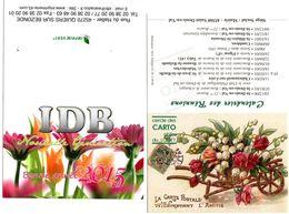 Lot De 2 Calendriers - Club Philatélie Et Imprimerie - 2001 2015 - - Calendars