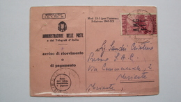 ITALIA TRIESTE AMG-FTT AMG FTT CARTOLINA CON ISOLATO DA 10 LIRE CENTENARIO INVENZIONE DELLA RADIO - Storia Postale
