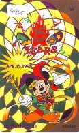 Télécarte Japon * 110-199100 * DISNEY * DISNEYLAND (4965) 15th ANNIVERSARY * Japan Phonecard Telefonkarte - Disney