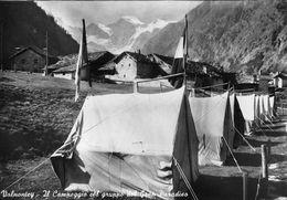 """07282 """"(AO) VALNONTEY-IL CAMPEGGIO DEL GRUPPO DEL GRAN PARADISO"""" VERA FOTO,S.A.C.A.T.  CART NON SPED - Italia"""