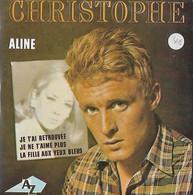 DISQUE 45 T POLYDOR DE 1965 REEDITE ANNEE 2000 EN CD COLLECTORS DE 4 TITRES DONT ALINE : CHRISTOPHE - Collectors