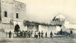 Maroc - Militaria - Campagne Du Maroc 1907-08 - Settat - Porte Extérieure De La Casbah Et La Kouba - Autres