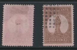 VIRGIN ISLANDS, 1867 4d Forgery, Fine - Britse Maagdeneilanden