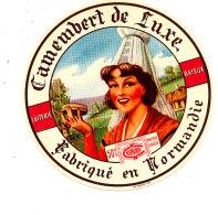P 899 - ETIQUETTE DE FROMAGE - CAMEMBERT  DE LUXE  LAITERIE DE BAYEUX (CALVADOS) - Cheese