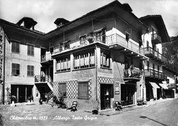 """07284 """"(AO) CHAMPOLUC M. 1570-ALBERGO TESTA GRIGIA"""" VERA FOTO, S.A.C.A.T.  CART NON SPED - Italia"""
