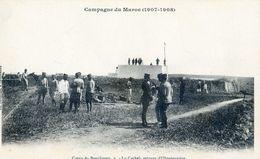 Maroc - Militaria - Campagne Du Maroc 1907-08 - Camp Du Boucheron - La Casbah Servant D'observatoire - Autres