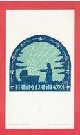 IMAGE RELIGIEUSE SCOUTE 1937 LUCERNA ARDENS A LYON - Padvinderij