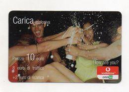 """Ricarica Telefonica """" VODAFONE/OMNITEL """" - Carica Esplosiva - Da 10 Euro - Usata - Validità 12.2006 -  (FDC7721) - Italy"""