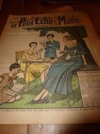1931 LPEDLM  (Le Petit Echo De La Mode): La Musique Et La Femme ,HÆNDEL ; Pull-Over Au Tricot; Broderie;etc - Boeken, Tijdschriften, Stripverhalen