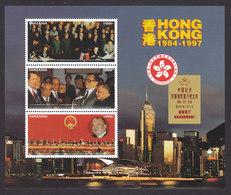 Tanzania, Scott #1597, Mint Never Hinged, Return Of Hong Kong To China, Issued 1997 - Tanzanie (1964-...)