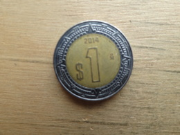 Mexique  1  Peso  2014  Km 603 - Mexique