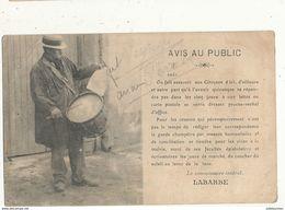 AVIS AU PUBLIC LE COMMISSAIRE CENTRAL LABARBE - Polizia – Gendarmeria